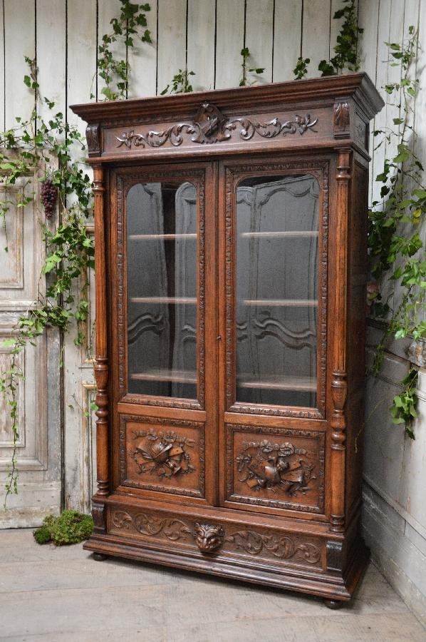 Exceptionnel French antique exports - your search - Bookcase VK03